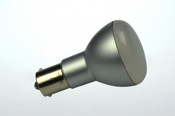 BA15S LED-Bajonettsockellampe AC/DC 200 Lumen 125° warmweiss 2,2W dimmbar Green-Power-LED