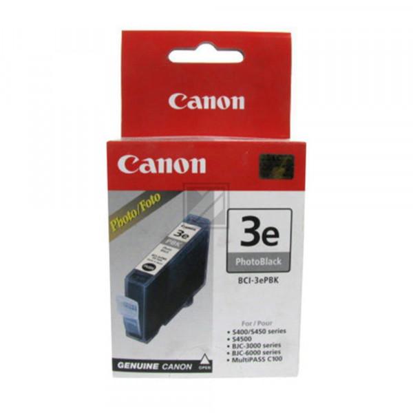 Canon Tintenpatrone Photo-Tinte photo schwarz (4485A002AA, BCI-3EPBK)
