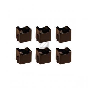 Xerox ColorStix schwarz 6-er Pack (108R00672)