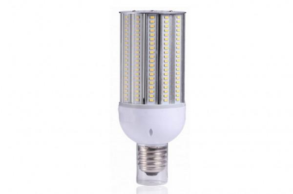 E27 LED-Strassenlampe AC 4200 Lumen 180° warmweiss 30W IP64, 4KV, inkl. Stütze Green-Power-LED