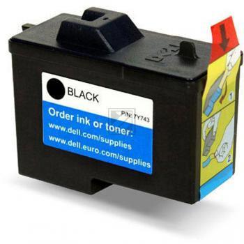 Dell Tintendruckkopf schwarz (592-10043, 7Y743 X0502)