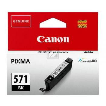 Canon Tintenpatrone schwarz (0385C001, CLI-571BK)