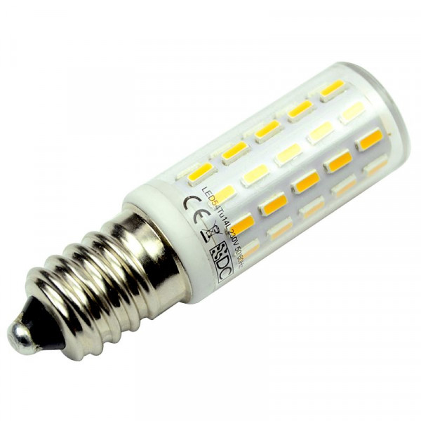 E14 LED-Tubular AC/DC 400 Lumen 300° warmweiss 3,2 W kleine Bauform, Green-Power-LED