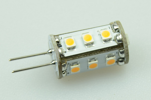 G4 LED-Stiftsockellampe AC/DC 90 Lumen 300° warmweiss 0,8W dimmbar Green-Power-LED