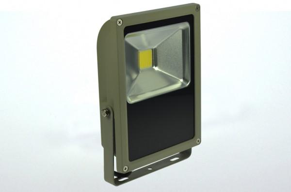 LED-Flutlichtstrahler AC/DC 2400 Lumen 120° kaltweiss 35W flache Bauweise Green-Power-LED