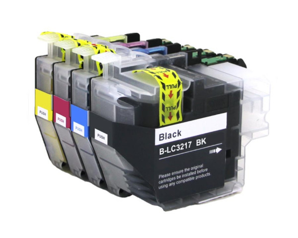 Tinten-Multipack Brother LC-3219 kompatibel (1 Komplettsatz) 10% Rabatt