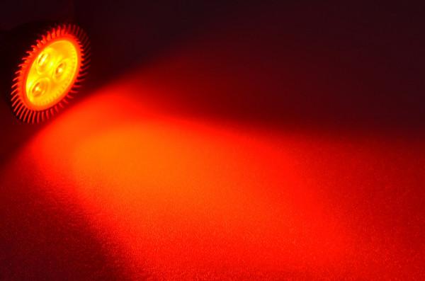 GU5.3 LED-Spot PAR16 DC 120 Lumen 30° Rot 2,3 W Green-Power-LED
