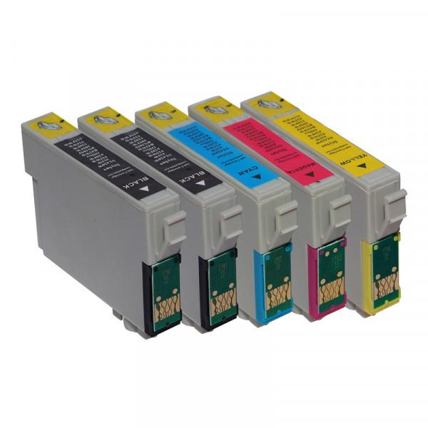 Tinten-Multipack Epson T1285 kompatibel (1 Komplettsatz) 10% Rabatt