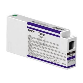 Epson Tinte violett (C13T824D00, T824D)