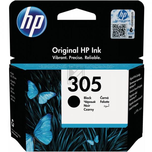 HP Tintenpatrone schwarz (3YM61AE#UUS, 305)