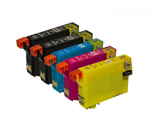 Tinten-Multipack Epson T1815 kompatibel (1 Komplettsatz) 10% Rabatt