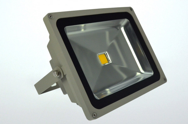 LED-Flutlichtstrahler AC 3600 Lumen 120° gelb 56W Green-Power-LED