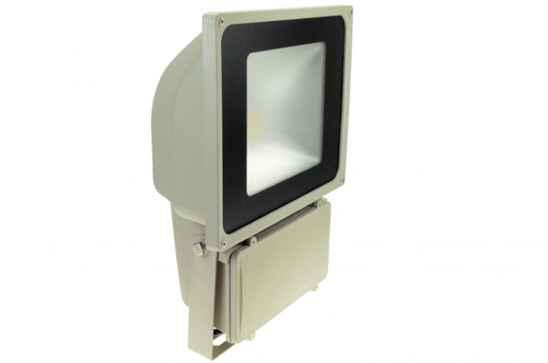 LED-Flutlichtstrahler AC 5700 Lumen 130° warmweiss 78W Green-Power-LED