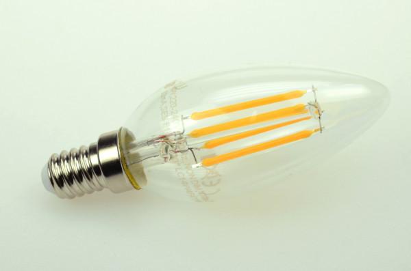 E14 LED-Kerze AC 470 Lumen 300° warmweiss 4 W Green-Power-LED