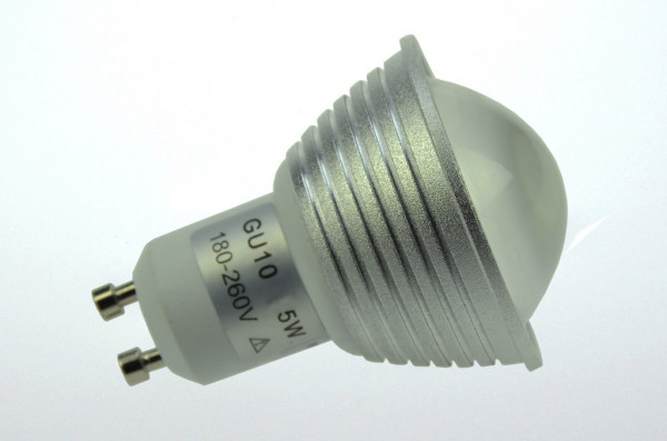 GU10 LED-Spot PAR16 AC/DC 300 Lumen 60° kaltweiss 3,8W dimmbar Green-Power-LED