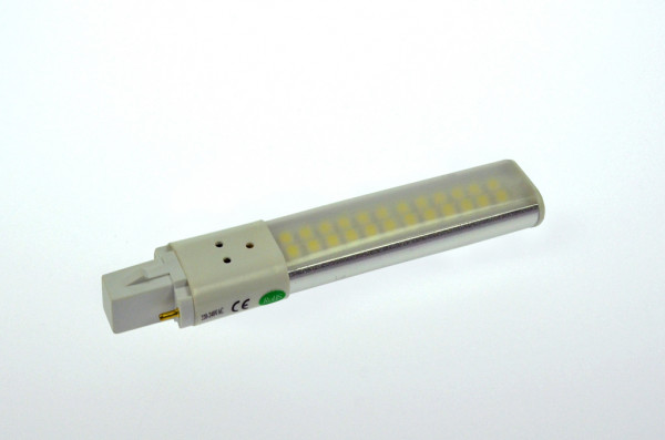 G23 LED-Kompaktlampe AC/DC 450 Lumen 140° warmweiss 6W Green-Power-LED
