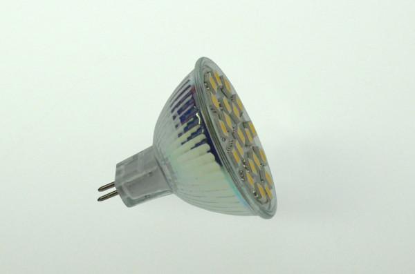 GU5.3 LED-Spot PAR16 AC/DC 310 Lumen 125° warmweiss 2,8W dimmbar Green-Power-LED