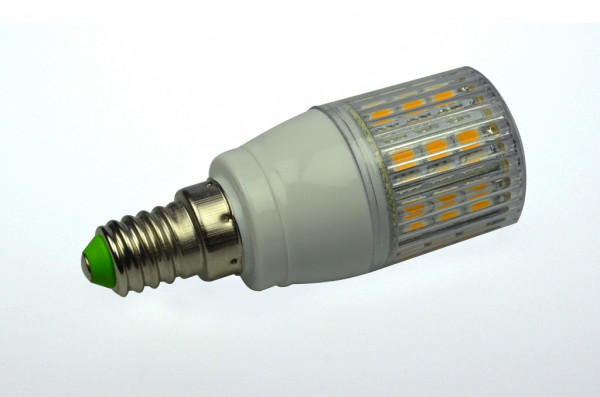 E14 LED-Tubular AC/DC 390 Lumen 330° kaltweiss 4W gekapselt Green-Power-LED