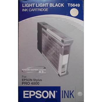 Epson Tintenpatrone Ultra Chrome K3 schwarz light, light (C13T564900, T5649)