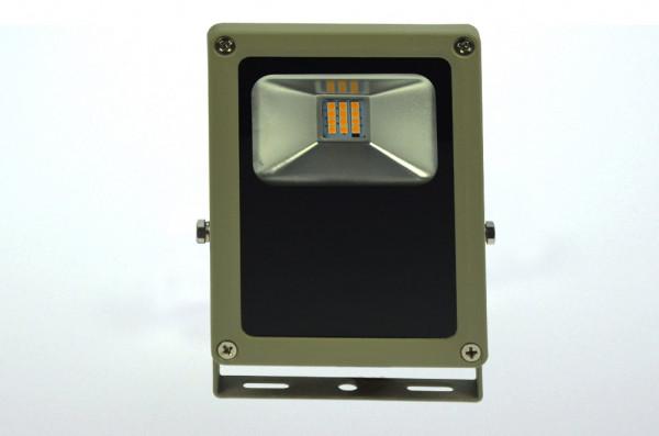 LED-Flutlichtstrahler AC/DC 930 Lumen 120° warmweiss 15W flache Bauweise Green-Power-LED