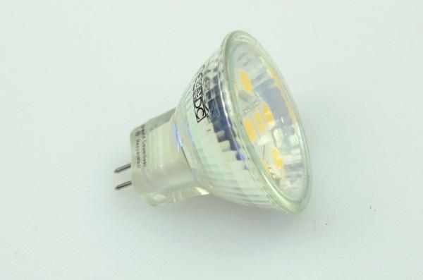 GU4 LED-Spot MR11 AC/DC 120 Lumen 125° neutralweiss 1,3W dimmbar Green-Power-LED