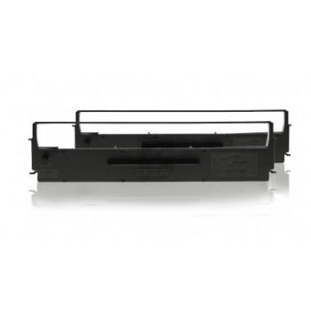 Epson Farbband Nylon 2 x schwarz (C13S015613)