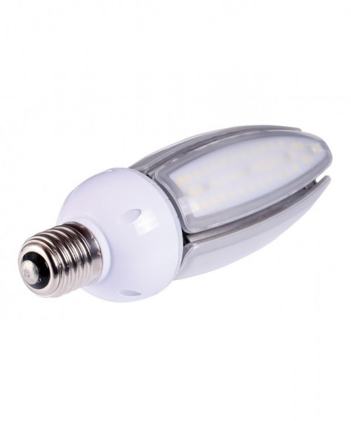 E27 LED-Tubular AC 4100 Lumen 300° amber 50 W IP65, 4KV Green-Power-LED