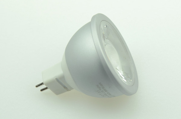 GU5.3 LED-Spot PAR16 AC/DC 380 Lumen 60° warmweiss 6W dimmbar, CRI>90 Green-Power-LED