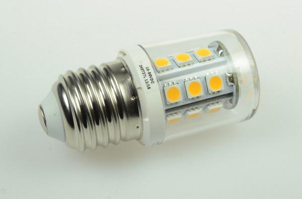 E27 LED-Stiftsockellampe AC/DC 290 Lumen 300° warmweiss 2,6W dimmbar Green-Power-LED