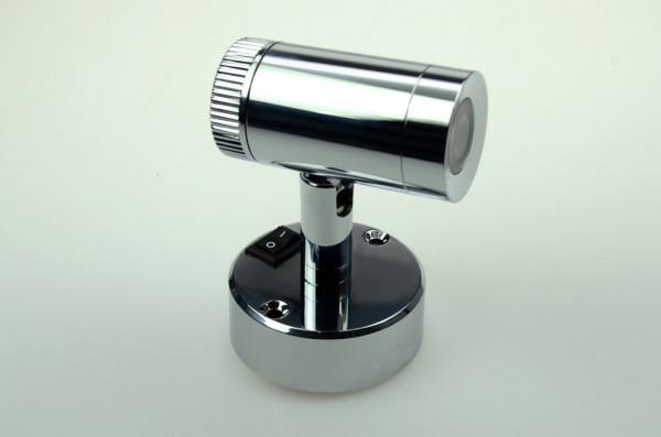 LED-Leseleuchte DC 120 Lumen 50° warmweiss 2,5W Schalter, integrierter Dimmer Green-Power-LED