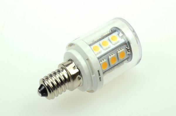 E14 LED-Tubular AC/DC 300 Lumen 300° warmweiss 2,6W dimmbar Green-Power-LED