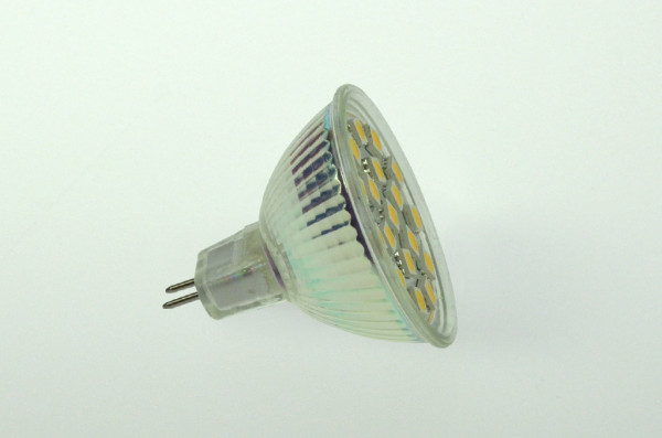 GU5.3 LED-Spot PAR16 AC/DC 280 Lumen 125° warmweiss 2,5W dimmbar Green-Power-LED