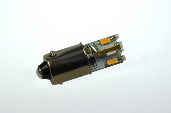 BA9S LED-Bajonettsockellampe DC 65 Lumen 300° warmweiss 0,6W kleine Bauform Green-Power-LED