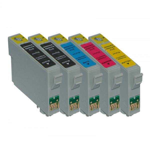 Tinten-Multipack Epson T0715 kompatibel (1 Komplettsatz) 10% Rabatt