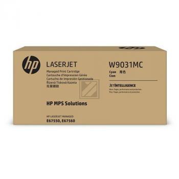 HP Toner-Kartusche cyan (W9031MC)