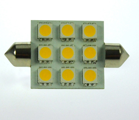 S8x37 LED-Soffitte AC/DC 170 Lumen 125° warmweiss 2W dimmbar Green-Power-LED