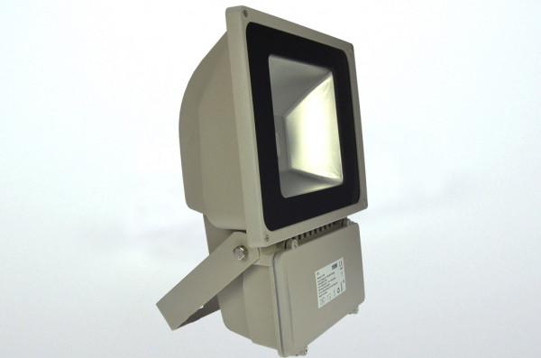 LED-Flutlichtstrahler AC/DC 4900 Lumen 120° warmweiss 78W Green-Power-LED