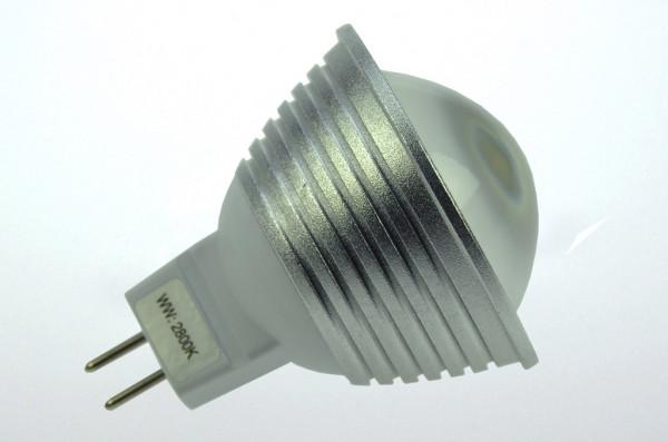 GU5.3 LED-Spot PAR16 AC/DC 300 Lumen 60° kaltweiss 4,8W dimmbar Green-Power-LED