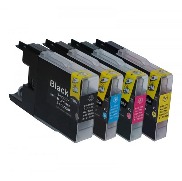 Tinten-Multipack Brother LC-1220/LC-1240 kompatibel (1 Komplettsatz) 10% Rabatt