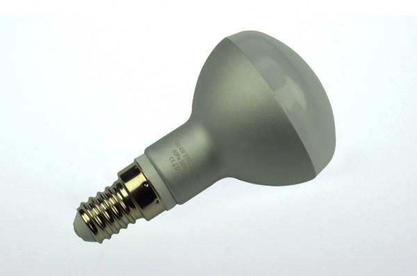 E14 LED-Reflektorlampe AC/DC 340 Lumen 130° warmweiss 4W dimmbar Green-Power-LED
