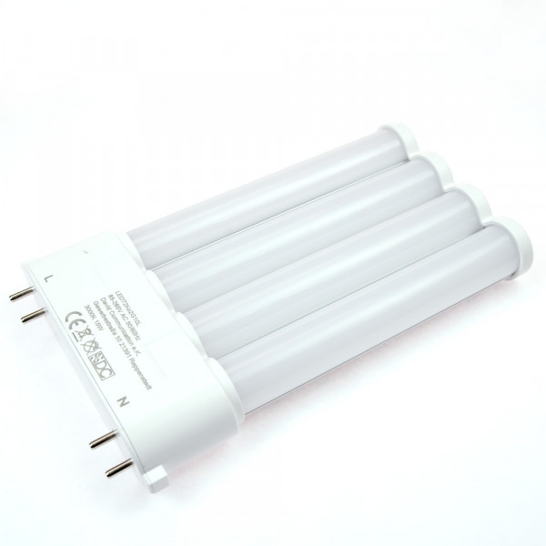 2G10 LED-Kompaktlampe AC 1500 Lumen 180° neutralweiss 15 W internes Netzteil Green-Power-LED