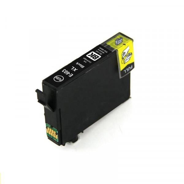 Epson C13T03A14020, 603XL kompatible Tinte Black (Schwarz) 18,2 Ml.