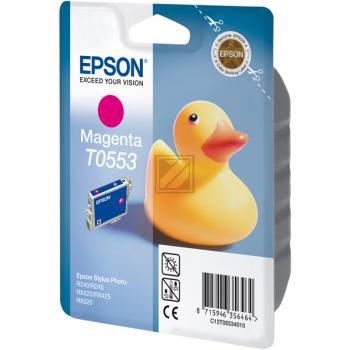 Epson Tintenpatrone magenta (C13T05534010, T0553)