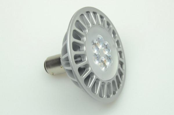 BA15D LED-Bajonettsockellampe AR70 AC/DC 500 Lumen 30° warmweiss 7W dimmbar Green-Power-LED