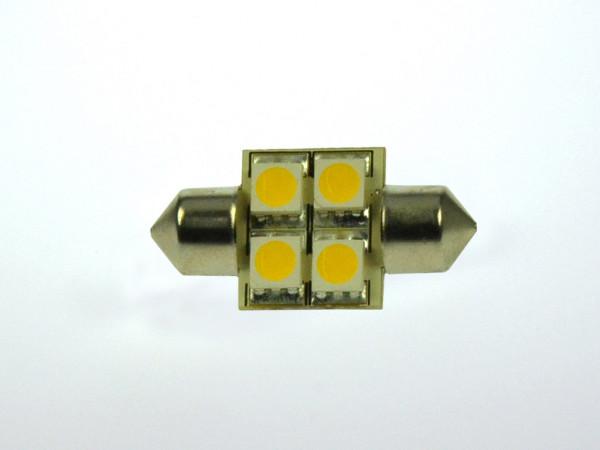 S8x31 LED-Soffitte AC/DC 55 Lumen 125° warmweiss 0,7W dimmbar Green-Power-LED