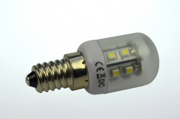 E14 LED-Tubular AC 65 Lumen 270° warmweiss 1,2W Green-Power-LED