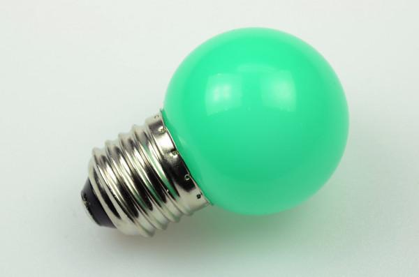 E27 LED-Globe LB45 AC 65 Lumen 270° grün 1W Green-Power-LED