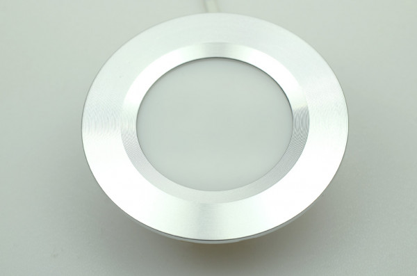 LED-Einbauleuchte DC 125 Lumen 120° warmweiss 3W Green-Power-LED