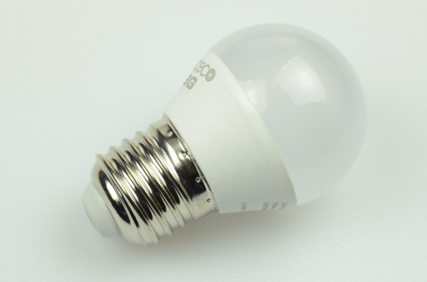 E27 LED-Globe LB45 AC/DC 250 Lumen 130° warmweiss 4W Green-Power-LED