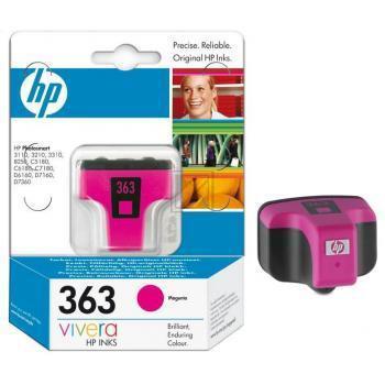 HP Tintenpatrone magenta (C8772EE#BA1, 363)